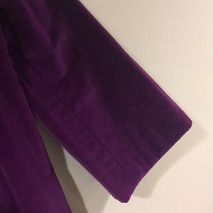 Jackets & Coats - Vintage 1960 Luxurious Purple  Velvet Coat